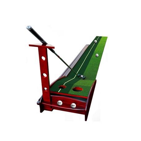 天然木ゴルフパター練習セット || レジャー・スポ...