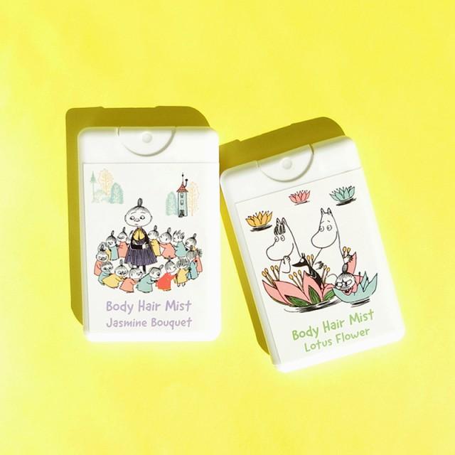 【新商品】カード型! ムーミン ボディヘアミスト...