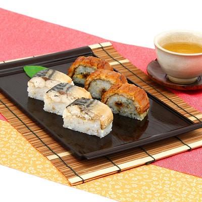 母の日 人気 詰め合わせ 送料無料 贈り物 ご贈答用におすすめ 焼きさば・穴子棒寿司
