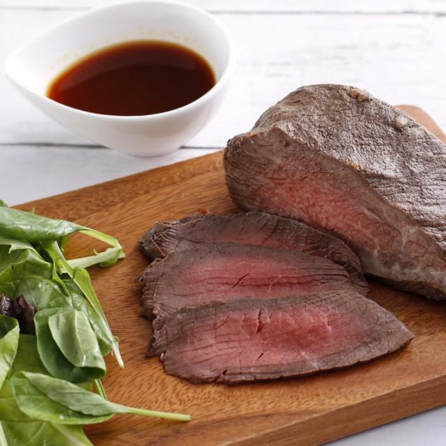 惣菜 ローストビーフ 300g 北海道 十勝 北海道産 国産 オードブル ディナー 塊 牛肉 和牛 十勝池田