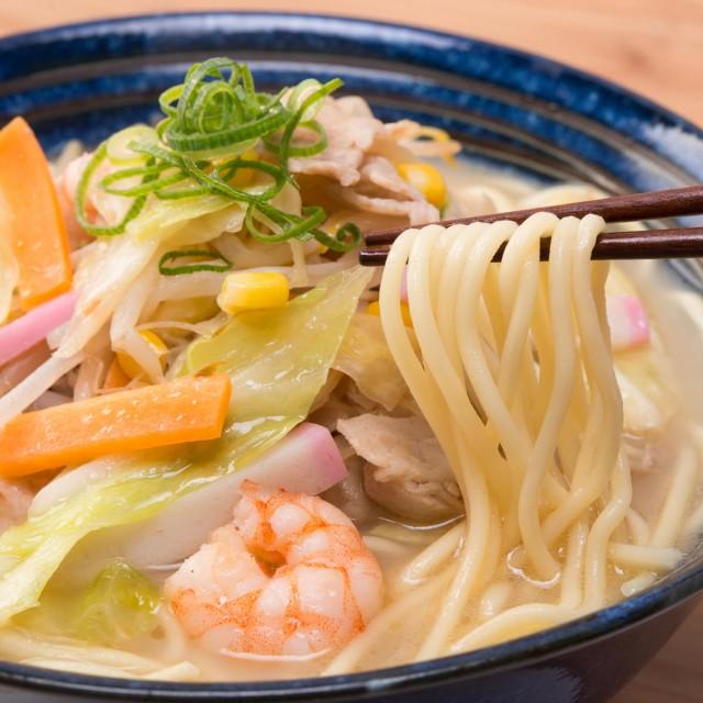 懐かしの中華そば 6食 チャンポン麺 ちゃんぽん ...