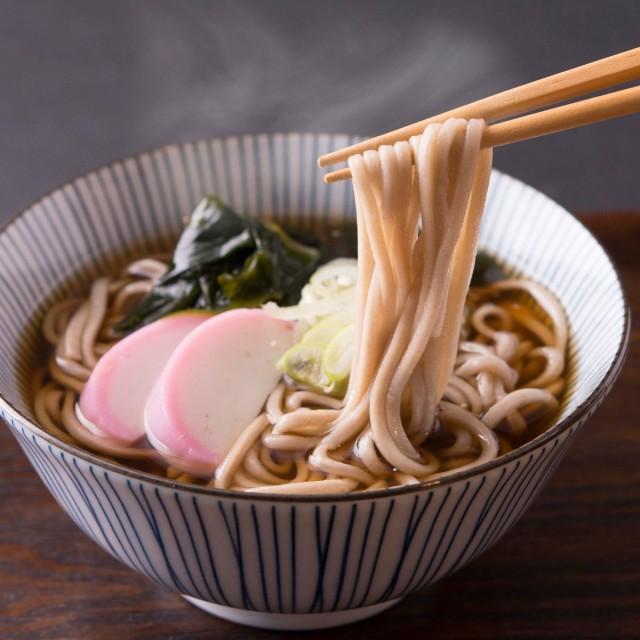 もち麦そば 8食 180g(2食)×4袋 雑穀麺 食物繊維 ...