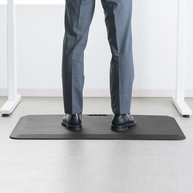 疲労軽減マット 腰痛対策 滑り止め機能 立ち仕事...