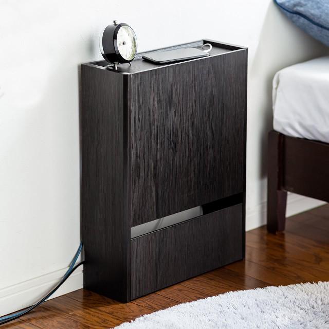 ケーブルボックス 幅40cm 電波を遮りにくい木製 ...