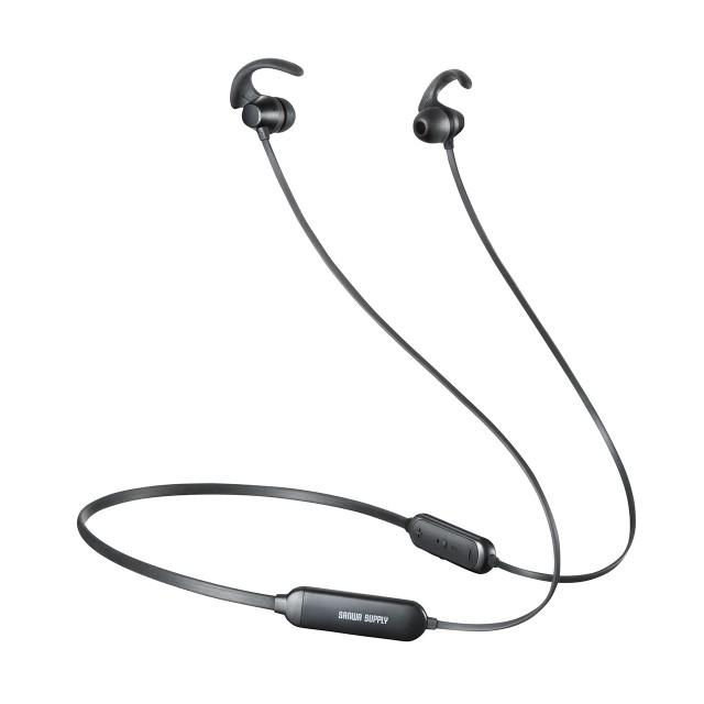 ネックバンド型 Bluetoothイヤホン 防水 IPX5 ラ...
