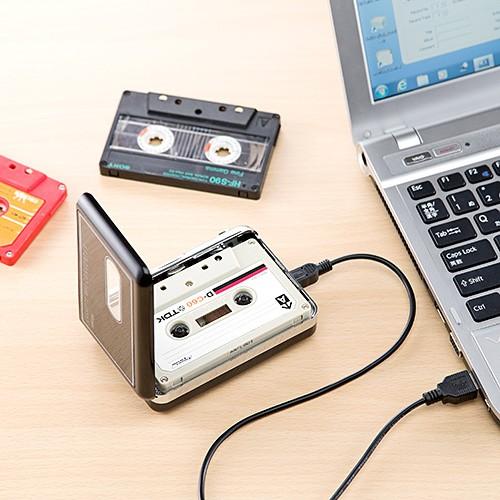 カセットテープ MP3変換プレーヤー デジタル化 コ...