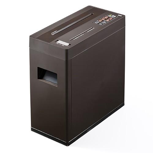 【送料無料】 おしゃれ 電動シュレッダー 家庭用 A4用紙 5枚細断 クロスカット CD・DVD・カード対応 [400-PSD011]