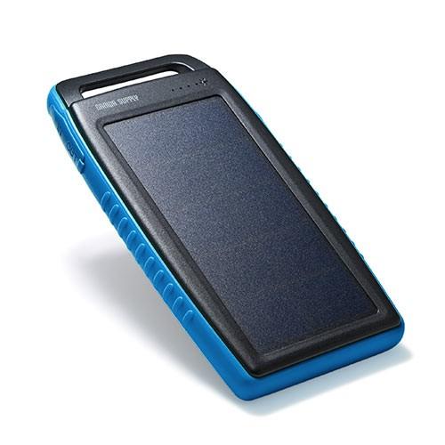 ソーラーチャージャー モバイルバッテリー 10000m...