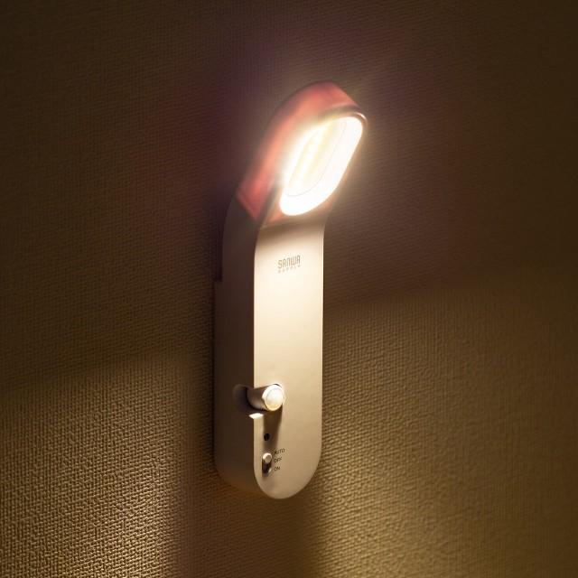 人感センサー LEDライト 夜間灯 LEDセンサーライ...