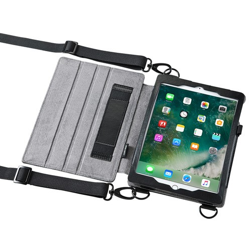 ショルダーベルト付き iPadケース iPad Pro 9.7 /...