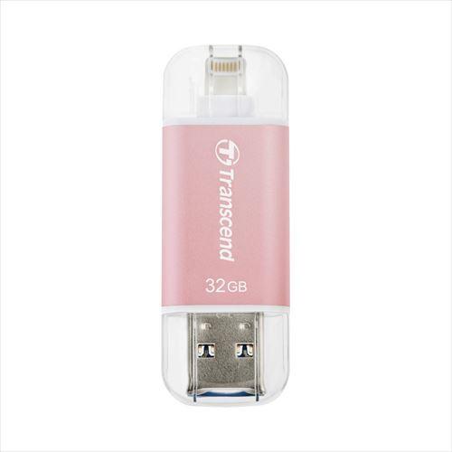【送料無料】Lightning USBメモリ 32GB Transcend...