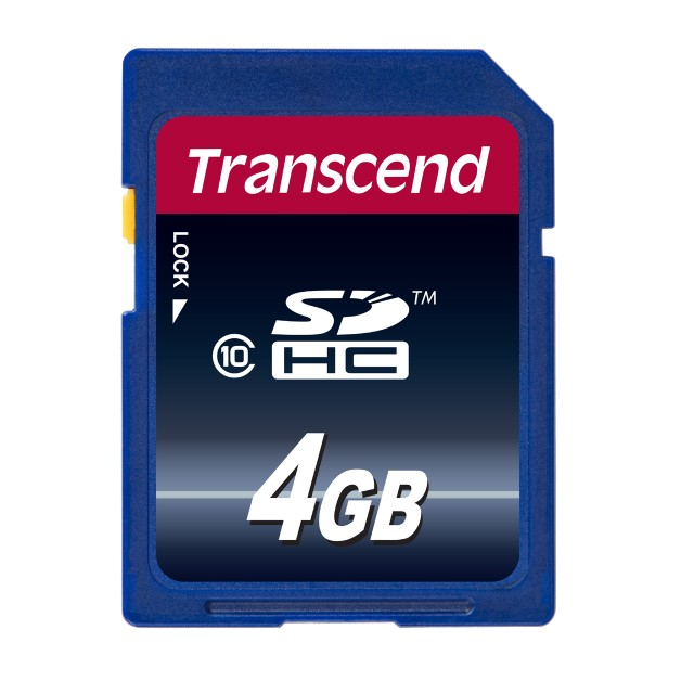SDカード 4GB Class10 SDHC Transcend メモリー...
