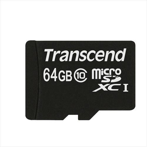 microSDカード 64GB Class10 SD変換アダプタ付属 ...