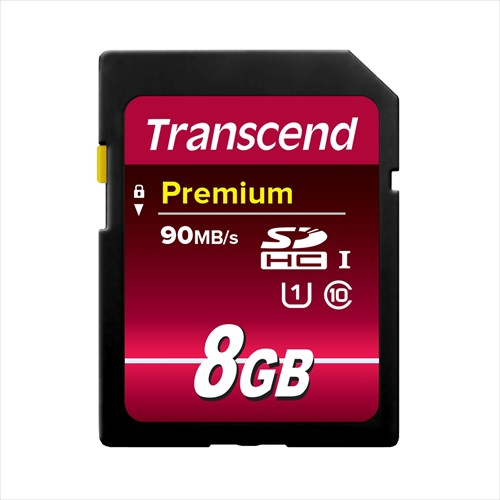 SDカード 8GB Class10 UHS-I Premium Transcend S...