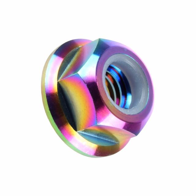 64チタン合金(TC4/GR5) M10 P=1.25 フランジナイ...