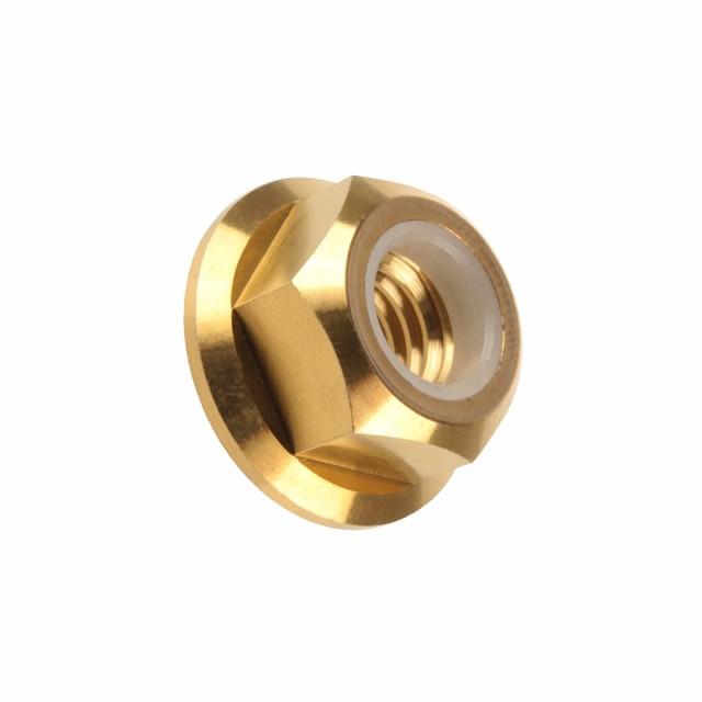 64チタン合金(TC4/GR5) M6 P=1.00 フランジナイロ...