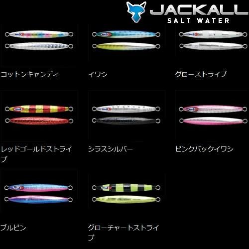 ジャッカル チビメタ タイプ1 3g (メタルジグ)