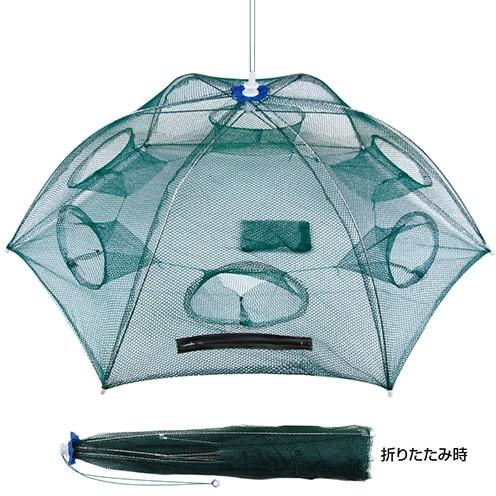 プロックス パラソル型魚キラー 90 6穴 (魚取り網...