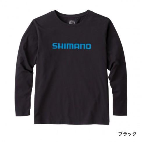 シマノ スタンダードTシャツ(長袖) ブラック XS〜...