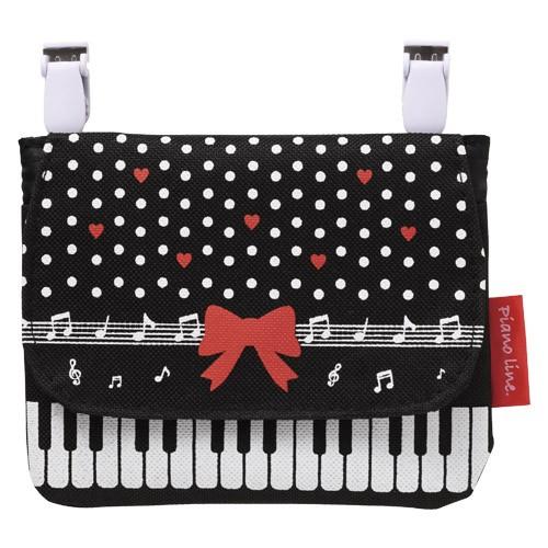 0163501 ピアノライン ポケットポーチ(リボン) ...