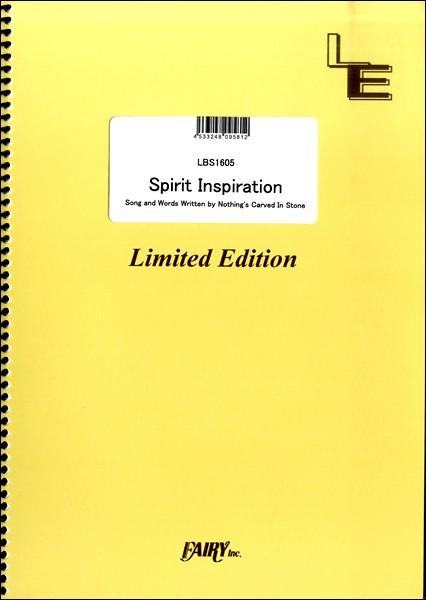 楽譜 LBS1605 Spirit Inspiration/Nothing's Ca...