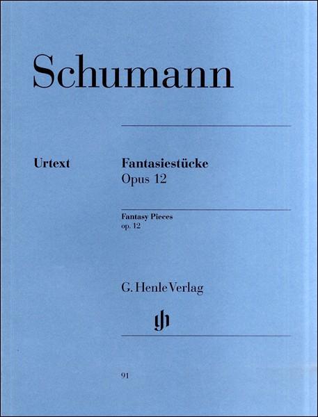 楽譜 (91)シューマン 幻想小曲集 Op.12/原典版 ...