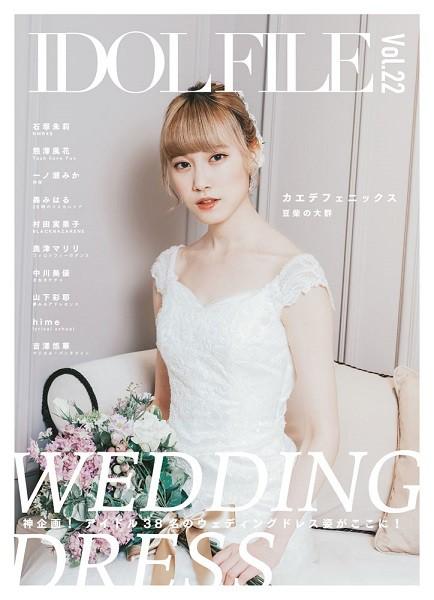 IDOL FILE Vol.22 WEDDING DRESS / シンコーミ...