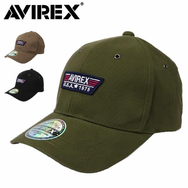 アビレックス  ローキャップ メンズ 帽子 AVIREX ...