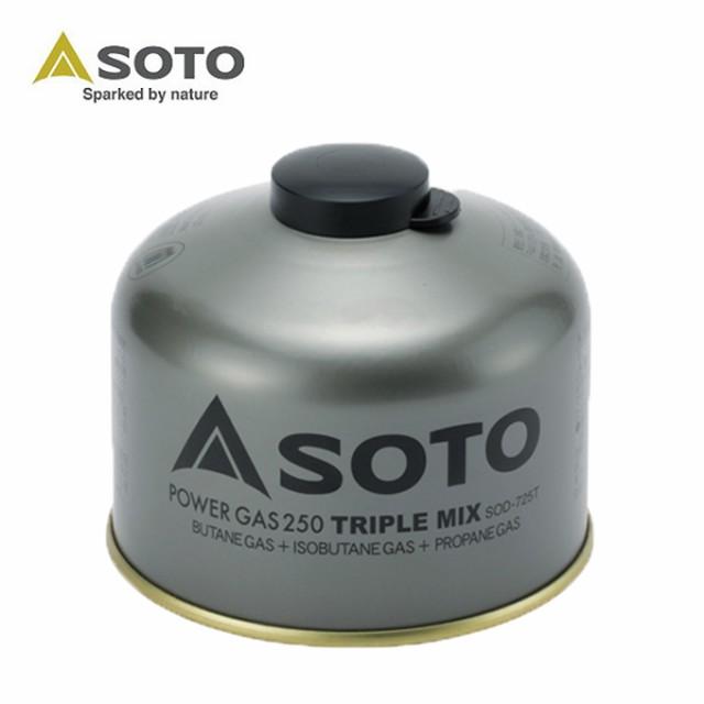 ソト SOTO ガスカートリッジ パワーガス 250 トリ...