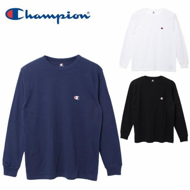 チャンピオン Champion Tシャツ 長袖 メンズ コッ...
