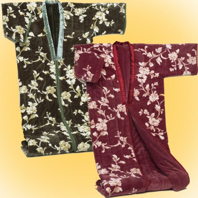 わた入りかいまき毛布 2色組 テイジン(R)ウォーマ...