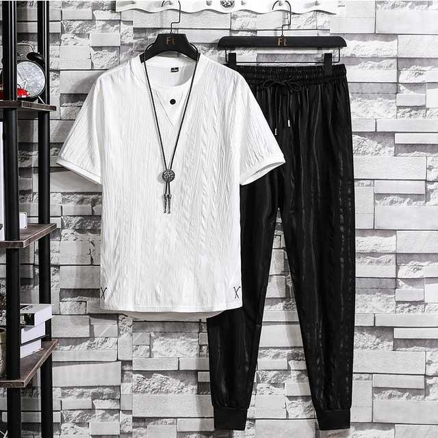 セットアップ 薄手 Tシャツ メンズ 夏 サマー 830...