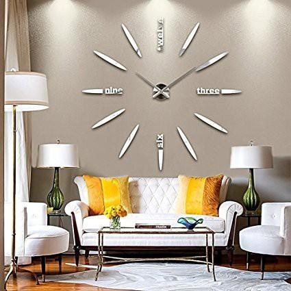掛け時計 ウォールクロック 壁時計 手作り セパ...