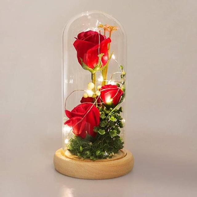 ソープフラワー 枯れない花 造花 花束 バラ 石?花...