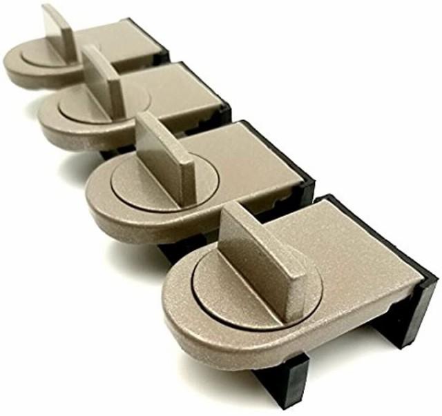窓ロック サッシ ストッパー セット 補助錠 ベラ...