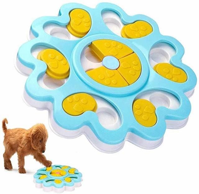犬 おもちゃ えさ入れ おやつ入れ 知育玩具 パズ...