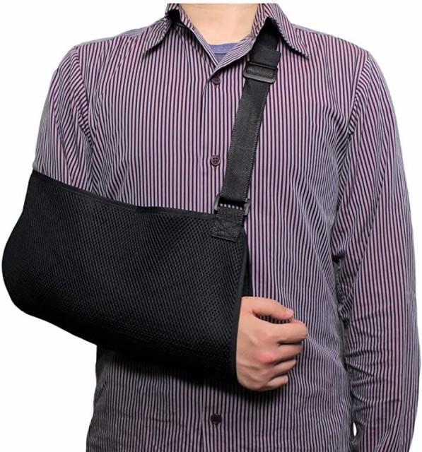 腕つりサポーター 腕の骨折・脱臼時のギブス固定 ...