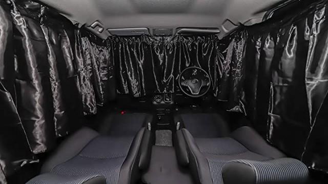 JACQUEL INE 車カーテン フロント 用 3枚セット ...