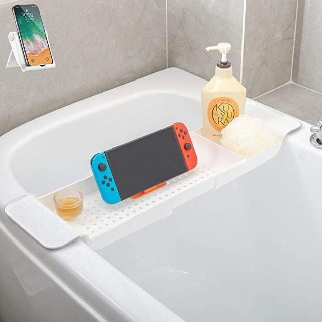 バスタブトレー バスタブラック 浴室用ラック バ...