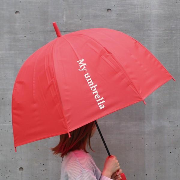 ラビアンジェ/ロゴ入りドーム型アンブレラ 雨傘