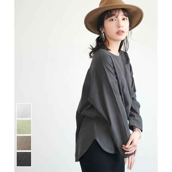 コカ/USAコットン テールカットTシャツ 全4色