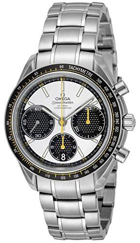 [オメガ] 腕時計 スピードマスター ホワイト文字...