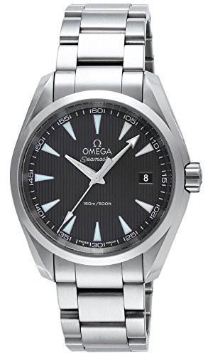 [オメガ] 腕時計 シーマスターアクアテラ グレー...