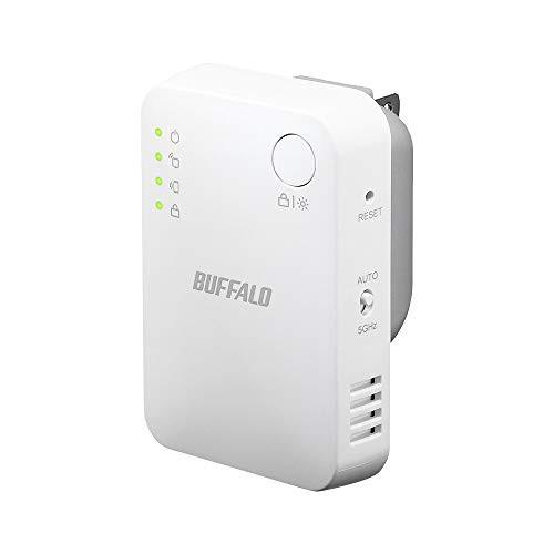 M) BUFFALO WiFi 無線LAN 中継機 WEX-733DHPS/N 1...