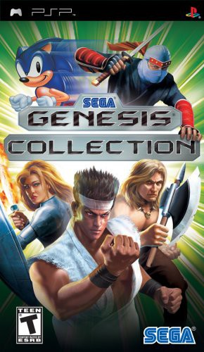 Sega Genesis Collection (輸入版) - PSP [video ...