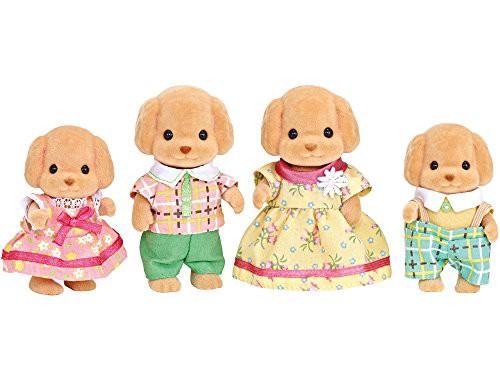 シルバニアファミリー 人形 トイプードルファミリ...