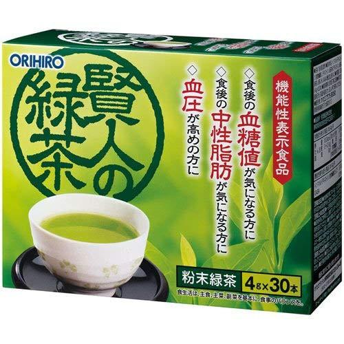 オリヒロ 賢人の緑茶 イソマルトデキストリン版 4...
