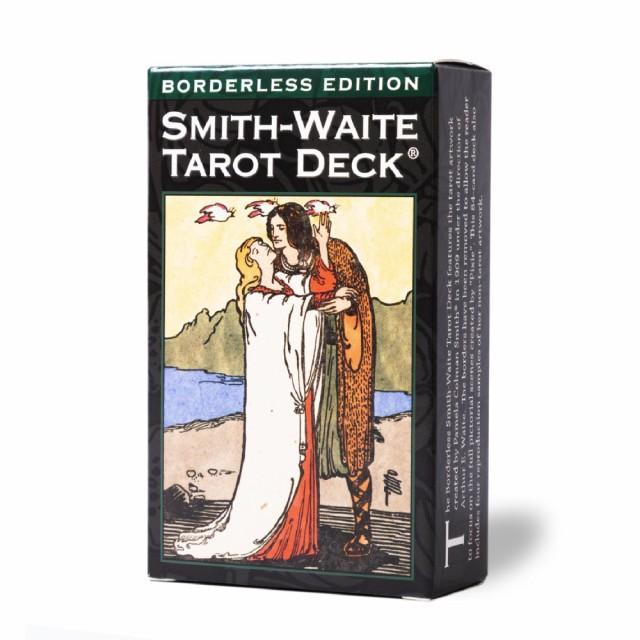 【 スミス・ウェイト タロット ボーダレスエディション Smith-Waite Tarot Deck Borderless Ed