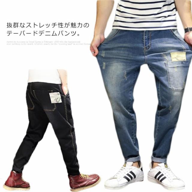デニムパンツ メンズ ジーンズ テーパード パンツ...