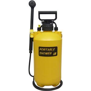 送料無料 蓄圧式 ポータブルシャワー 7L 家電:生...